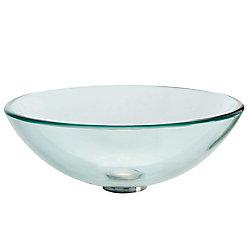 Kraus Lavabo-vasque en verre transparent
