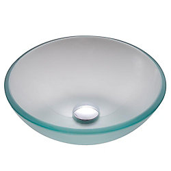 Kraus Lavabo-vasque en verre givré