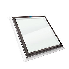 2 ft. x 2 ft. Fixed Self Flashing Clear Glass Skylight