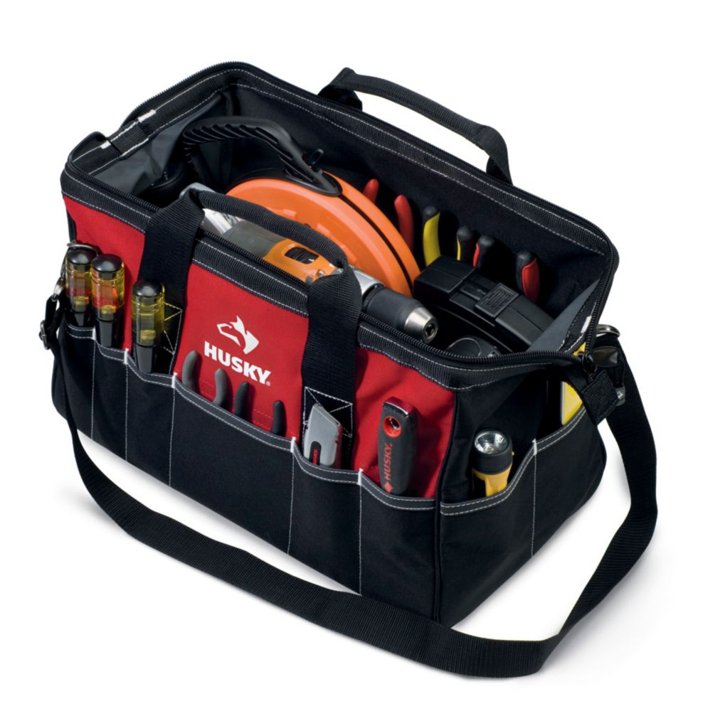 Husky 18 Inch Large Tool Bag The Home Depot Canada