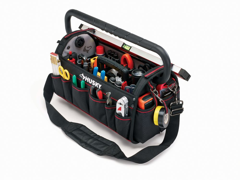 20 inch Pro Tool Bag W Tool Wall