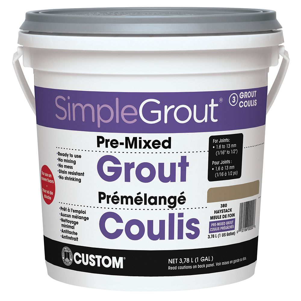 #380 Haystack - Pre-Mixed Grout 3.9L CPMG3801 Canada Discount