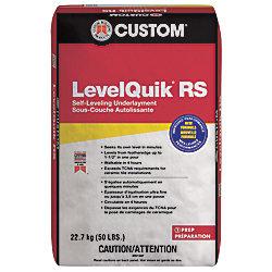 Custom Building Products Sous-couche autolissante à prise rapide, 22,7 kg