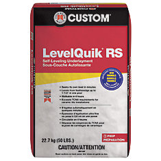 LevelQuik RS Self-Leveling Underlayment, 22.7kg