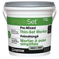 Custom Building Products Pre-Mixed Tile Thin-Set Gray - 3.9L