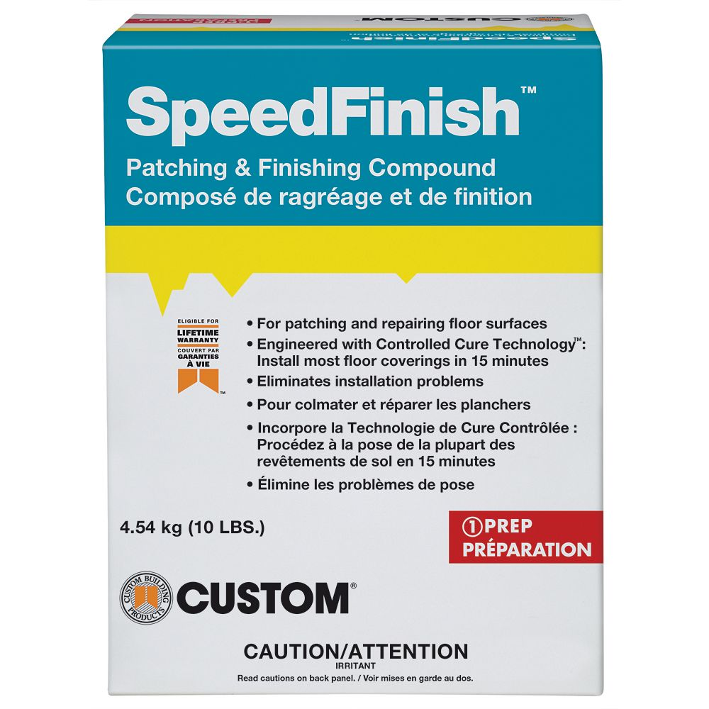 SpeedFinish Patching & Finishing Compound 4.54kg
