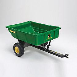John Deere 450 lb. 7 cu. ft. Tow-Behind Poly Utility Cart