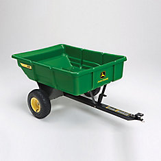 7 cu. ft. Poly Utility Cart for Lawn Tractors
