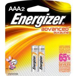 Energizer Advanced Alkaline AAA Battery - (2-Pack)