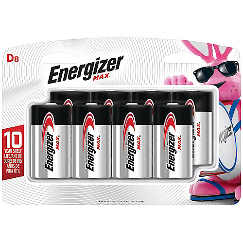 Max D Battery - (8-Pack)