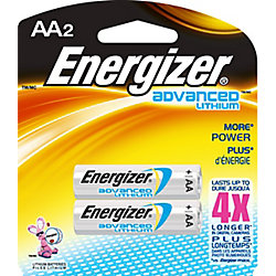 Energizer Advanced Lithium AA Battery - (2-Pack)