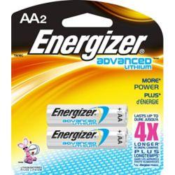 Energizer Pile Lithium Advanced AA - paquet de 2