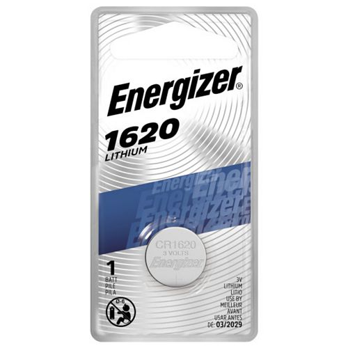 Energizer Energizer 1620 Lithium Coin Battery, 1 Pack