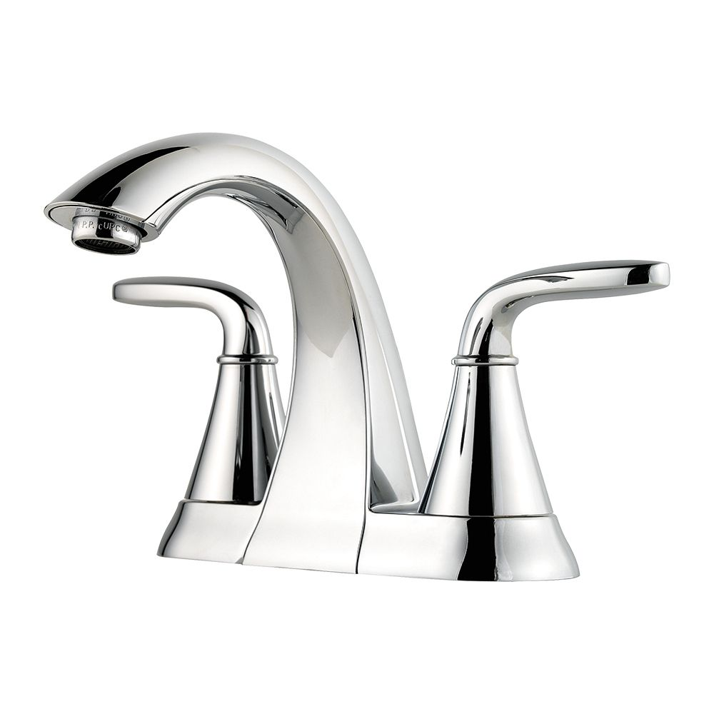 Pasadena 4-inch Centreset Bathroom Faucet in Chrome Finish