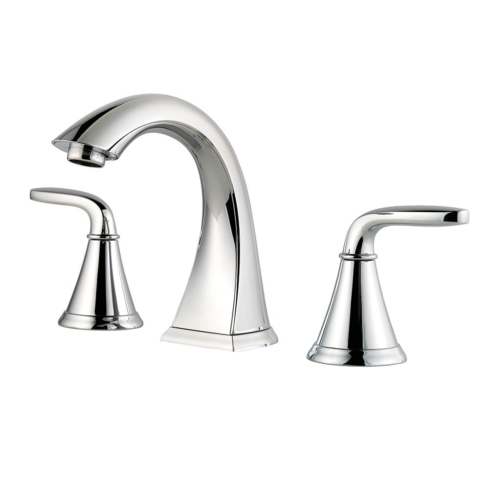 Pfister pasadena 8 inch widespread bathroom faucet in for Bathroom 8 inch spread faucets