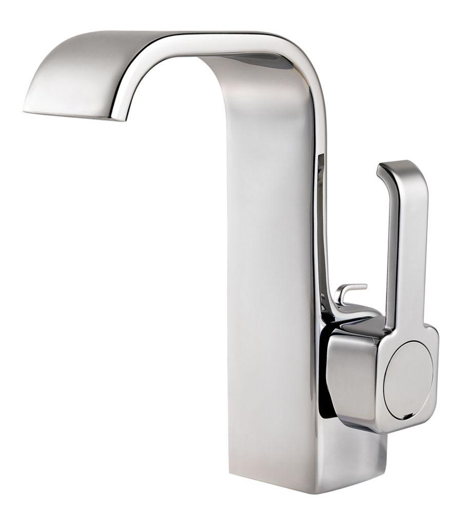 Skye Single-Control Bathroom Faucet in Nickel Finish