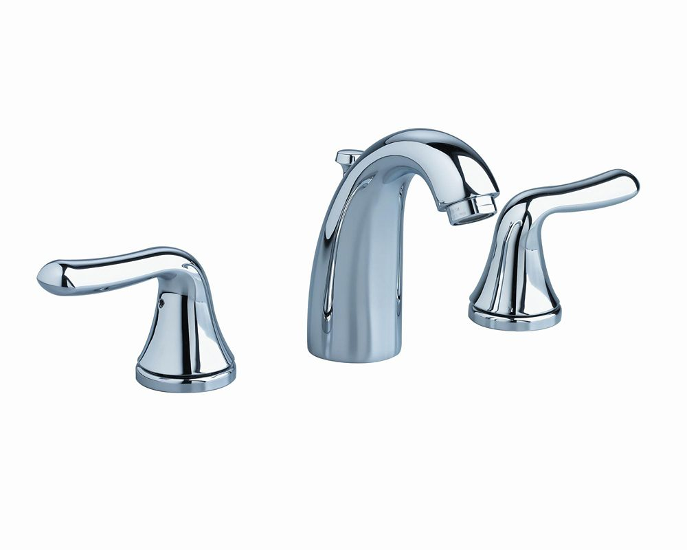 Cadet 8-inch 2-Handle Low-Arc Bathroom Faucet in Chrome Finish