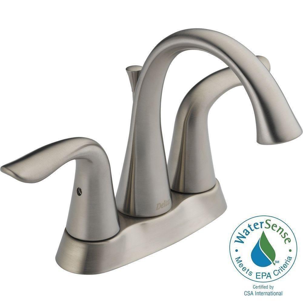 Lahara Centreset 2-Handle Bathroom Faucet