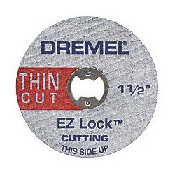 Dremel 1 1/2-inch EZ Lock Thin Cut Metal Cut-Off Wheels