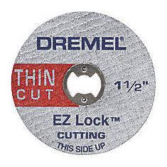 1 1/2-inch EZ Lock Thin Cut Metal Cut-Off Wheels