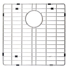 Stainless Steel Bottom Grid w/Protective Anti-Scratch Bumpers for KHU103-33 Kitchen Sink Left Bowl