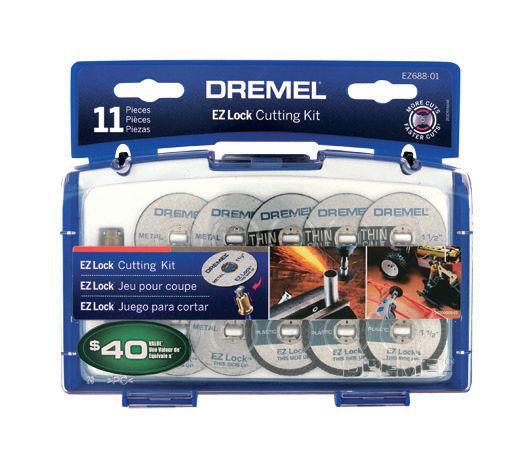 11-Piece EZ Lock� Cutting Kit