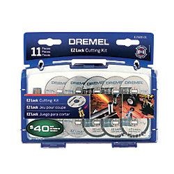 Dremel 11-Piece EZ Lock Cutting Kit