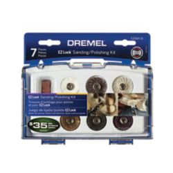 Dremel 7-Piece EZ Lock Sanding/Polishing Kit