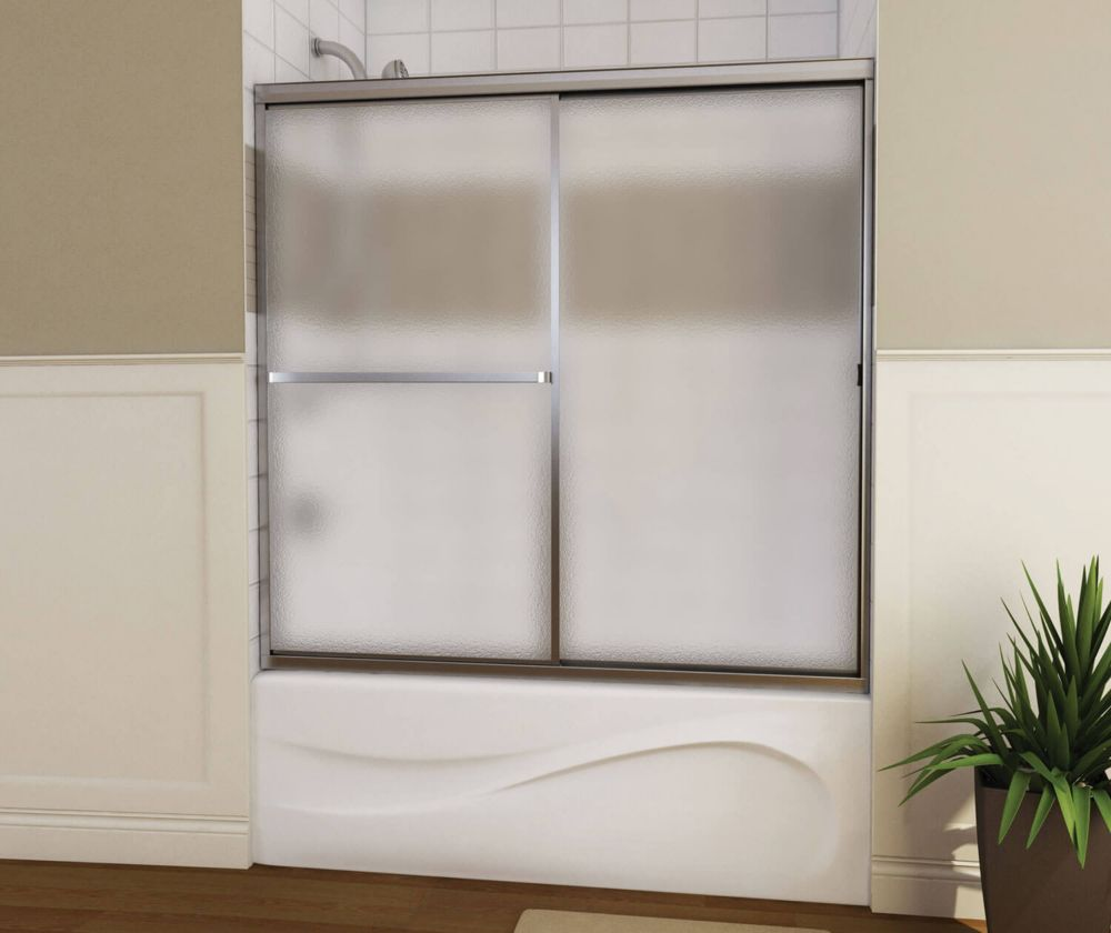 Mika 2 Panel Framed Tub Door