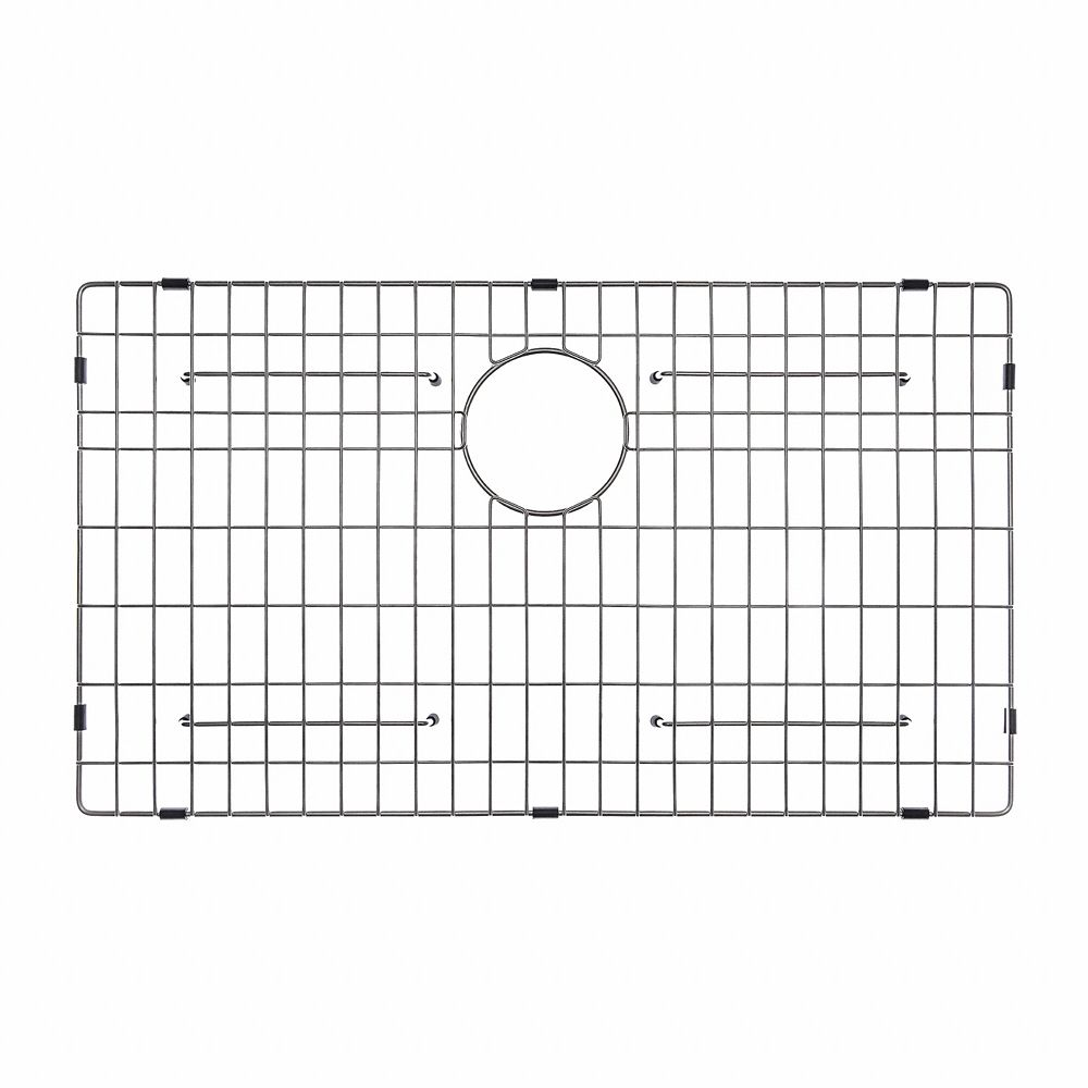 Stainless Steel Bottom Grid W/Protective Anti Scratch Bumpers For KHU100 30  Kitchen