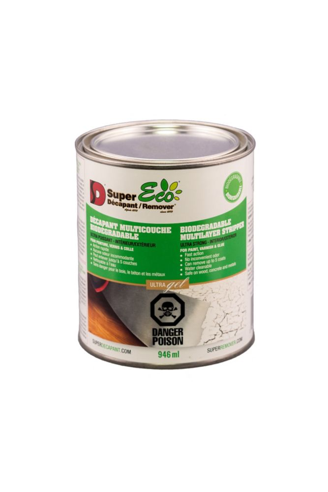 Ds Super Eco Remover Eco Paint Varnish and Glue Remover - 946ml