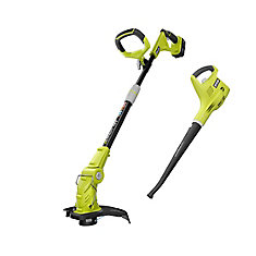 18V ONE+ Lithium-Ion String Trimmer and Cordless Blower Combo Kit