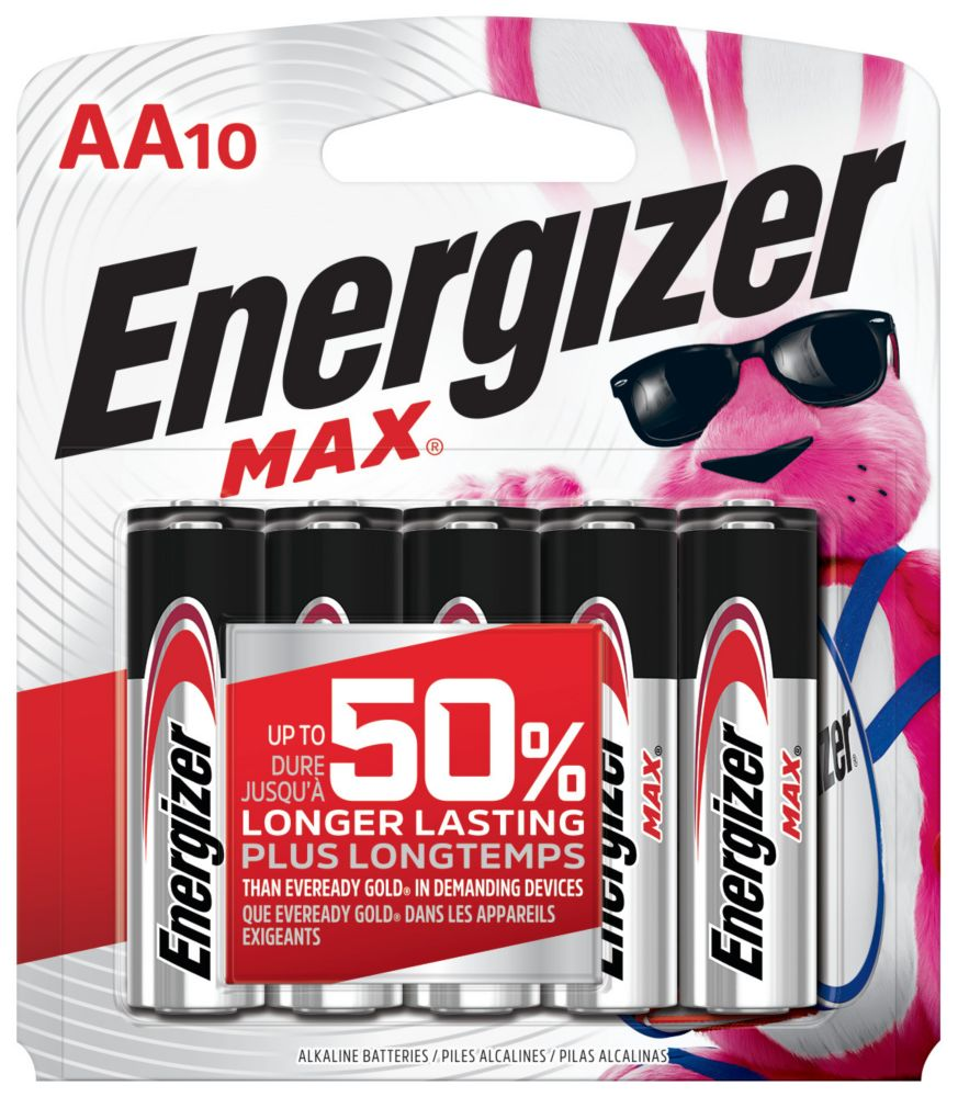Max AA Battery - 10 Pack
