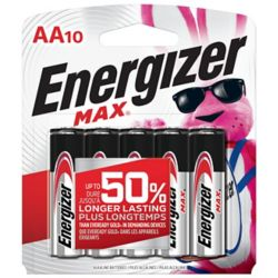 Energizer Max AA Battery - (10-Pack)