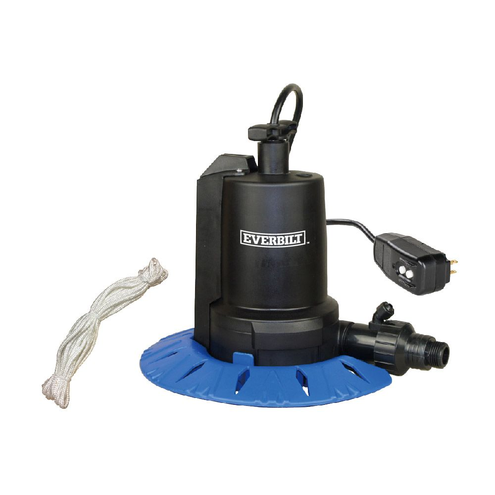 1/6Hp Pool Cover Utility Pump