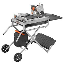 RIDGID 7-inch Portable Tile Saw with Laser