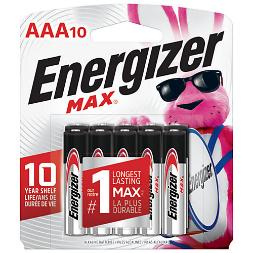 Max AAA Battery - (10-Pack)