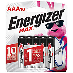 Max AAA Battery - 10 Pack