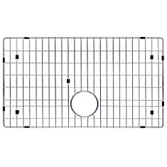 Stainless Steel Bottom Grid w/Protective Anti-Scratch Bumpers for KHF200-33 Kitchen Sink