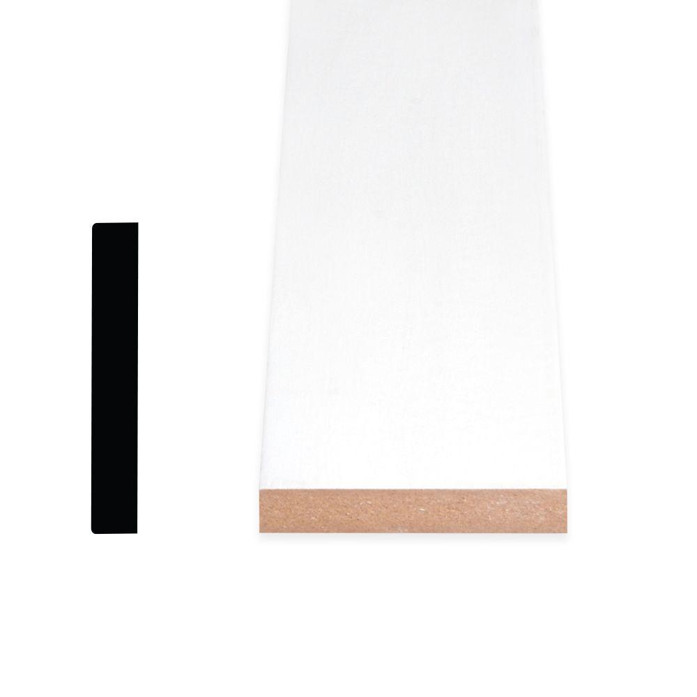 Cadrage en MDF avec peinture DécoSmart 1/2 po x 2-1/2 po x 8 pi