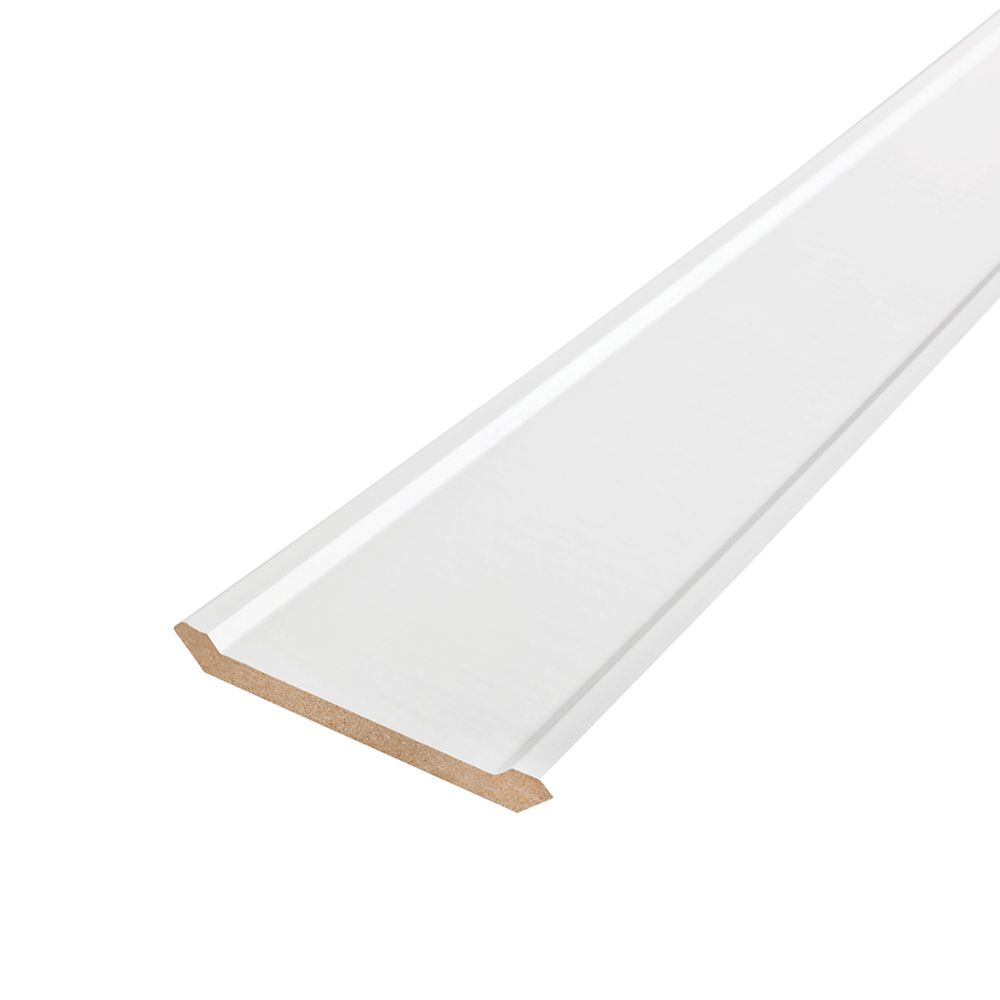 Painted Fibreboard Decosmart Crown 1/2 Inches x 4-1/8 Inches x 8 Feet