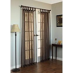 Habitat Sorento Curtain, Brown - 54 Inches X 84 Inches