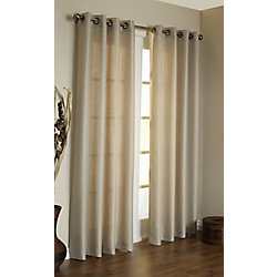 Habitat Oxford Curtain, Taupe - 54 Inches X 95 Inches