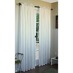 Curtain, Ivory - 48 Inches X 84 Inches