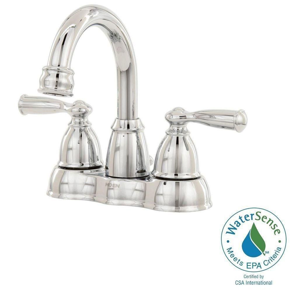 Banbury 2-Handle Bathroom Faucet in Chrome Finish
