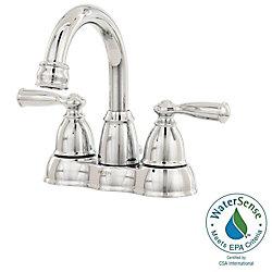 MOEN Banbury 4-Inch Centerset 2-Handle High-Arc Bathroom Faucet in Chrome