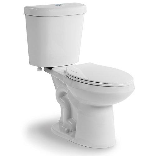 Toilette allongée à double chasse deau, chasse de 4,1 L ou 6 L