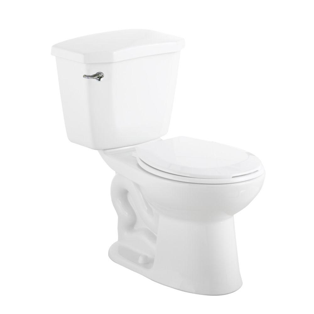 Premier 2-piece 6.0 LPF Single Flush Round Bowl Toilet in White