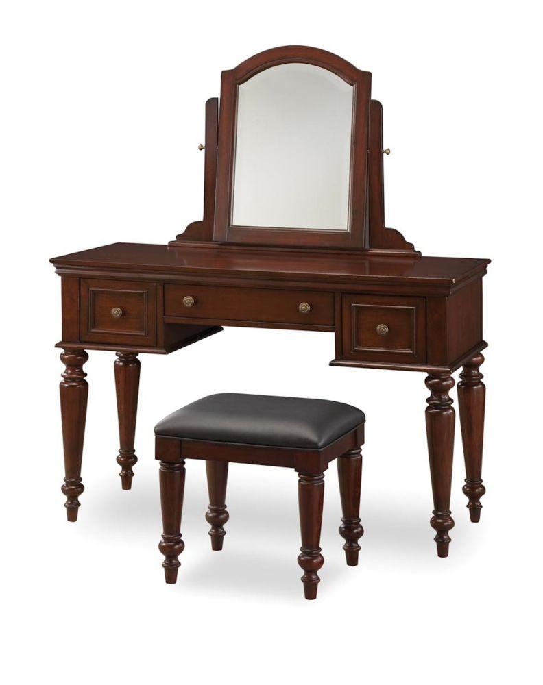 Home Styles Lafayette Vanity & Bench Set