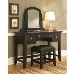 Home Styles Bedford Vanity & Bench Set